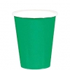 9 Ounce Paper Cup Festive Green 120/case 20/pack 6 Packs/case