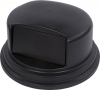 44-55 Gal Bronco Dome Lid, Blk