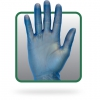Vinyl Pf Glove Blue Xl 1000/cs