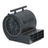1.5 Hp Blower Gray Mini Air Mover 3 Speed 115v 50/60c With Outlet And 3 Hour Timer
