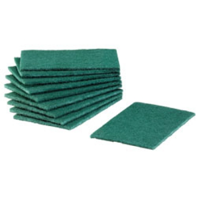 Medium Duty Green Scouring Pads