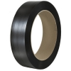 "5/8 X 3600 .030 Black Polystrapping 16"" X 6"" 1100# Strength 28/skid"""