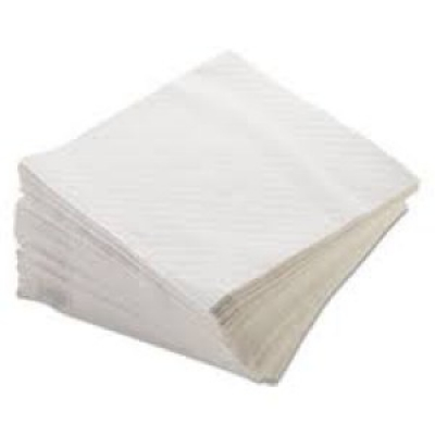 "Lunch Napkin 12 X 13"" 6000/cs 1/4 Fold White"