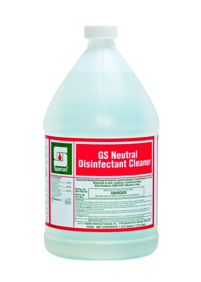 Gs Neutral Disinfectant Cleaner    1 Gallon (4 Per Case)