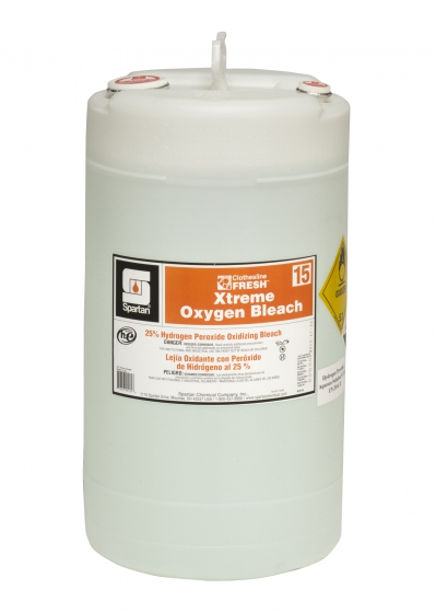 Extreme Oxygen Bleach 15 Gallon Drum Clotheline Fresh 25% Hydrogen Peroxide Bleach Formula Can Be Used To Replace Bleach In The Laundry