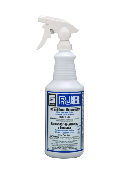 Rj8 Tile And Grout Cleaner And Rejuvenator 32 Ounce 12/cs Soap Scum Remover