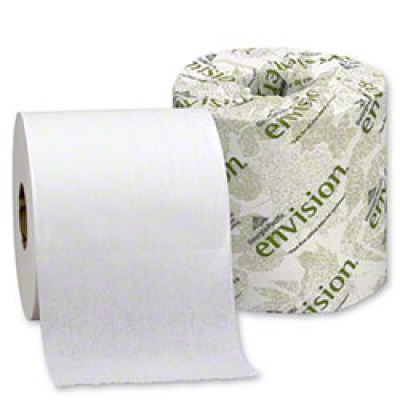Envision White 2-ply Embossed Bathroom Tissue
