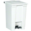 Rubbermaid® Step-on Can - 12 Gal. White