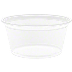 Dart® Conex® Portion Container - 2 oz. Clear