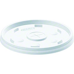 Dart® Lid - Translucent, Straw Slotted