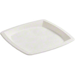 Hoffmaster® Tree Free Square Plate - 9 3/4