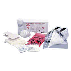 Impact® Bloodborne Pathogen Cleanup Kit w/Disinfectant