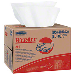Kimberly-Clark® WYPALL® X80 Wiper - White
